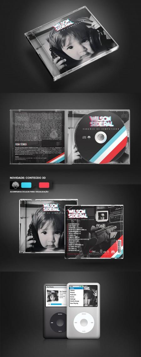 CD Canções de Computador – Wilson Sideral