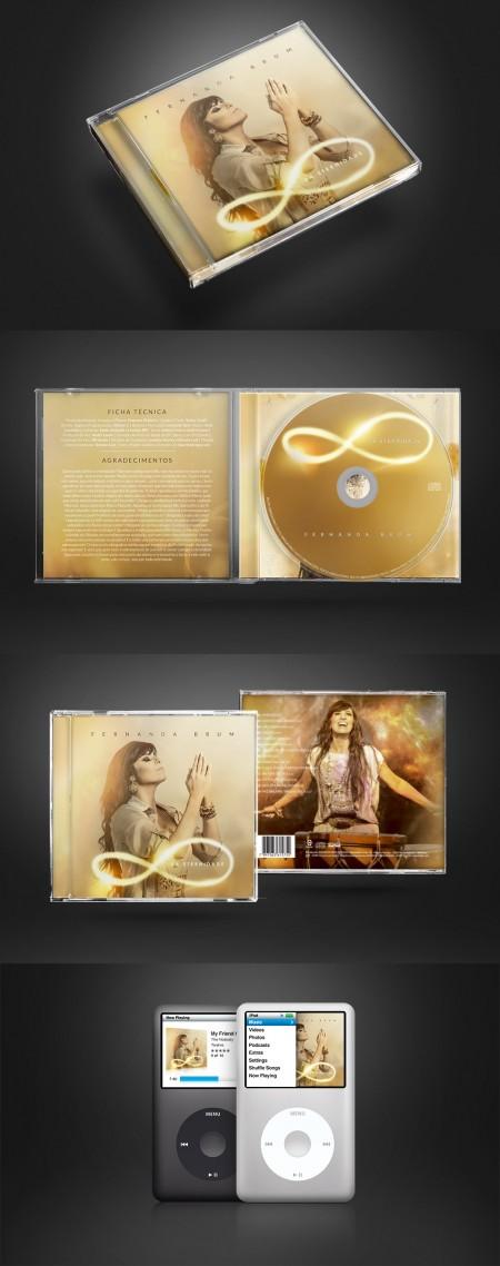 CD Da Eternidade - Fernanda Brum