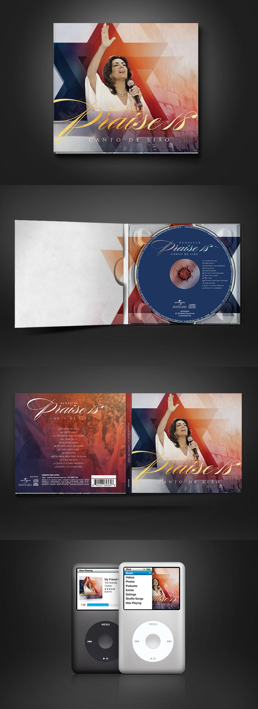 CD Renascer Praise 18 – Canto de Sião