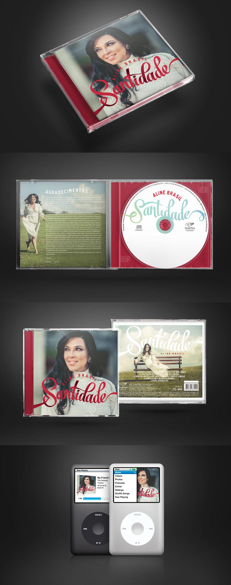 CD Santidade – Aline Brasil