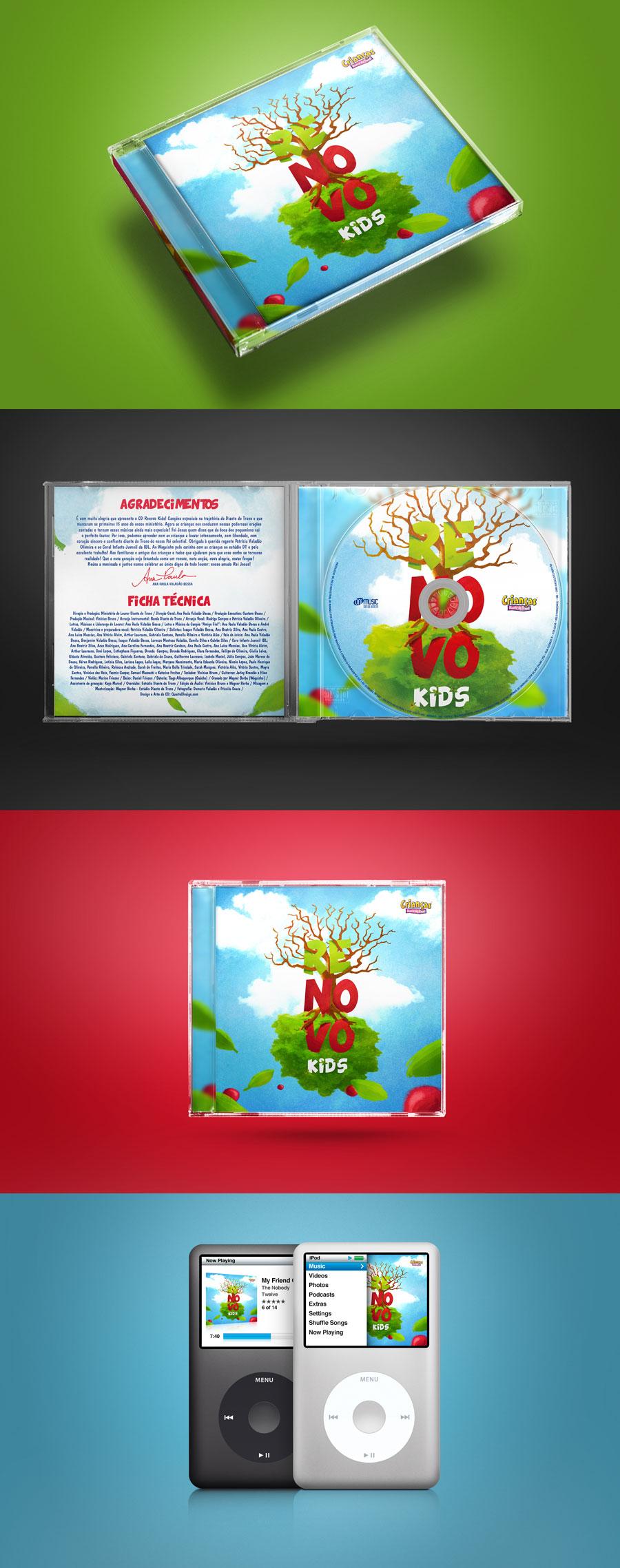 CD Renovo Kids – Diante do Trono